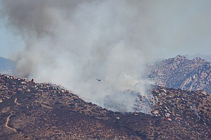 Aquilla Fire Fully Contained in Lakeside, Calif.