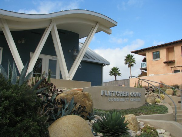 Fletcher Cove Community Center in Solana Beach, Oct. 2013.