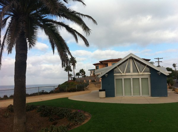 Fletcher Cove Community Center in Solana Beach, overlooki...