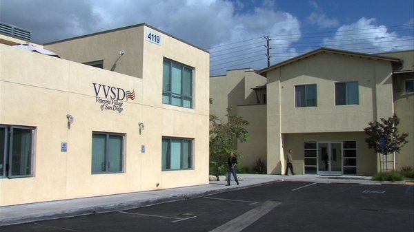 The Veterans Village of San Diego, where Governor Jerry Brown signed the Vete...