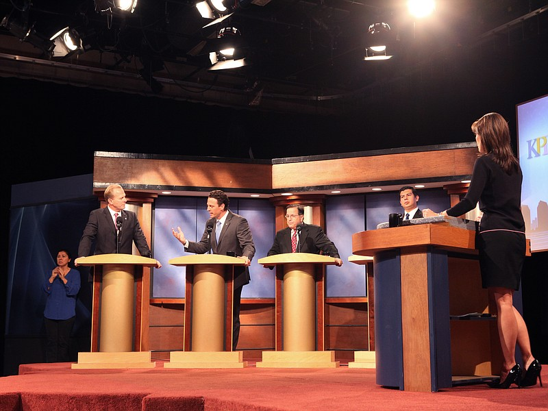 Faulconer and Fletcher had the most heated exchange of the debate. It centere...