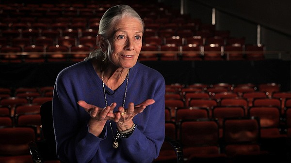Noted actress Vanessa Redgrave is interviewed in