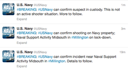 Tweets from @USNavy