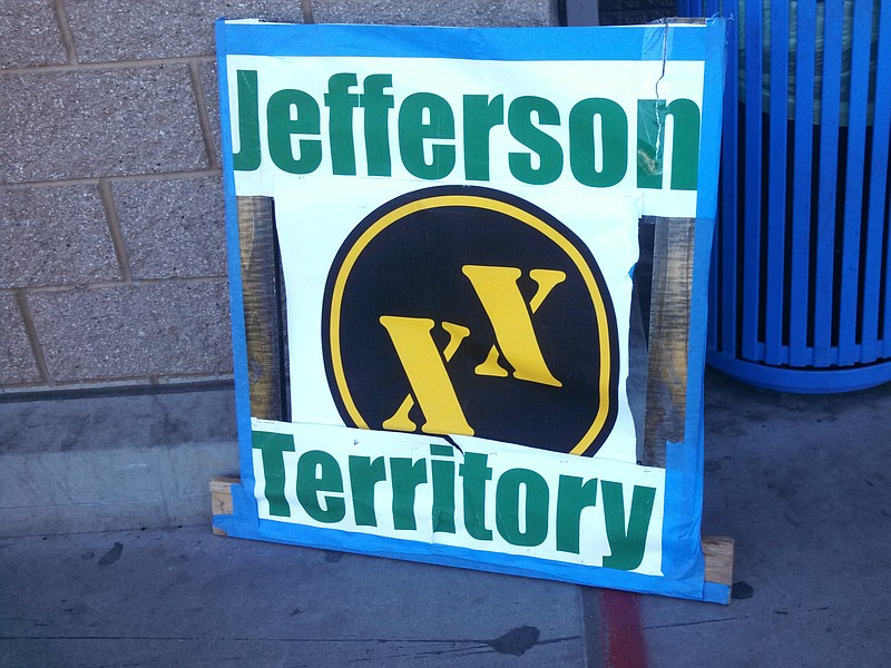 The symbol for the proposed State of Jefferson.
