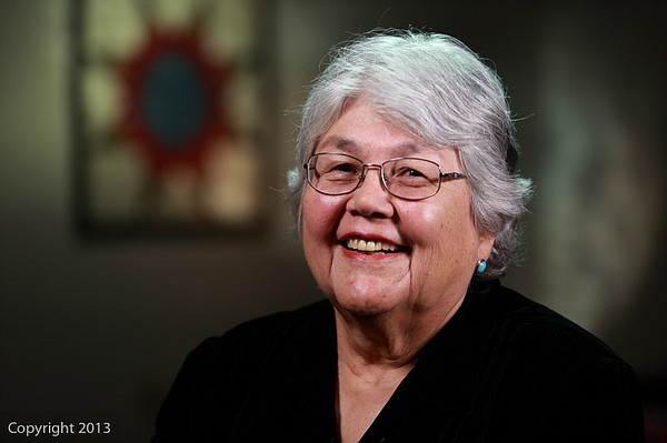 2013 American Indian Heritage Month honoree, Margaret Orrantia.