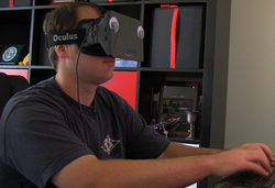 San Diego indie game developer E McNeill took first place in Oculus' VR Jam for his cyberpunk hacking game Ciess.