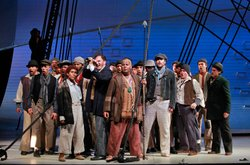 "The cast of ""Moby Dick From San Francisco Opera."""