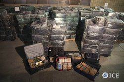 San Diego Tunnel Task Force agents and local authorities seized more than 8 tons of marijuana and 325 pounds of cocaine, marking the first time cocaine has been recovered in connection with a local drug tunnel.