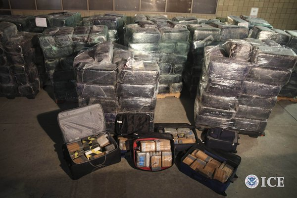 San Diego Tunnel Task Force agents and local authorities seized more than 8 t...