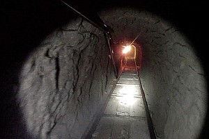 How tunnels are built, used along U.S.-Mexico border