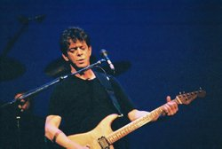 Lou Reed at Schinitzer Concert Hall Portland, Oregon.
