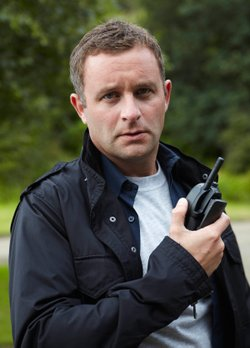 Gareth Farr as DC Barry Kelman in the third season of VERA.