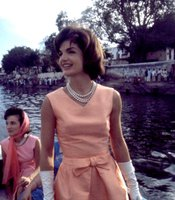 Taken March 12-26, 1962, Mrs. Kennedy on a boat trip with her sister Princess Lee Radziwill.