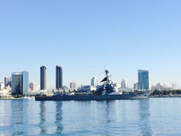 The guided-missile destroyers USS Stockdale (above) and the USS William P. Lawrence returned to San Diego on Friday from an extended 10-month deployment.