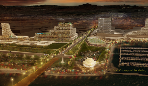 One of the approved concept renderings of the Chula Vista Bayfront and H Stre...