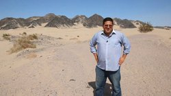 On the way to San Felipe, host Jorge Meraz and crew found some interesting desert scenery.