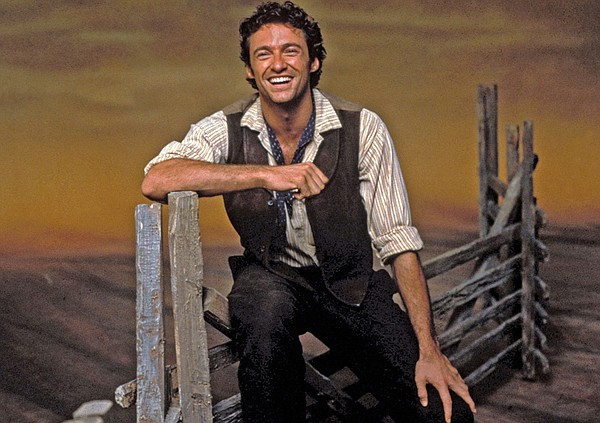 Hugh Jackman as Curly in