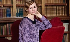 Lily James as Lady Rose. (32414)