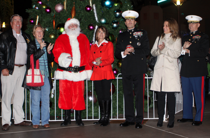 Tree lighting in 2012