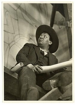 Mexican muralist Diego Rivera, whom Kahlo married twice, despite his many aff...