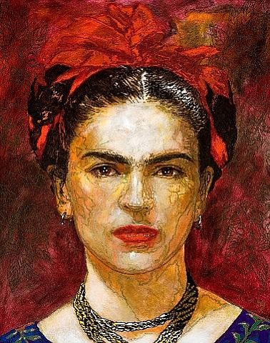 Frida Kahlo by contemporary muralist George Yepes. A post...
