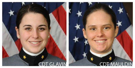 West Point Cadets Calla Glavin and Erin A. T. Mauldin
