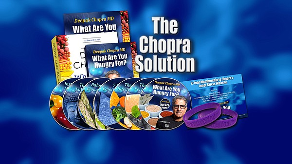 Give at the $150 level and receive the The Chopra Solutio...