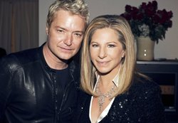 Chris Botti with Barbra Streisand.