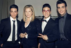 Barbra Streisand and Il Volo.
