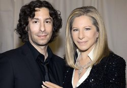 Jason Gould with Barbra Streisand.