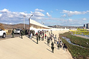 San Ysidro Border Rush Had Been Planned For A Week