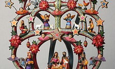 """Nacimiento (Nativity) Tree of Life"" by Veronica Castillo."