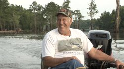 Roy Blanchard Sr. is a happy resident of the Louisiana Basin. Blanchard shares his crab fishing and love for nature with his community.