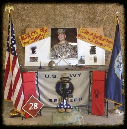Memorial for Navy Petty Officer 1st Class James L. Smith