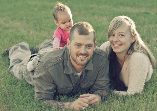 "Army Sgt. First Class William ""Kelly"" Lacey and family."