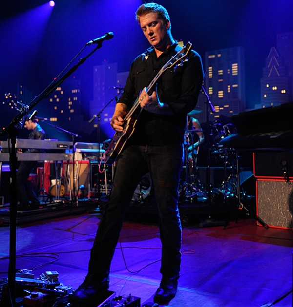Queens of the Stone Age live on the AUSTIN CITY LIMITS stage.