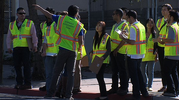 Two dozen engineering students from SDSU and UC San Diego will walk all 5,000...