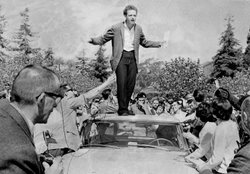 University of California Berkeley philosophy student Mario Savio became the l...