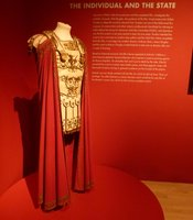 "One of the costumes from ""Spartacus"" (1960)."