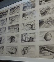 "Storyboards for ""Dr. Strangelove."""