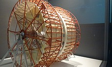 For the rotating interior of the spacecraft in 2001.