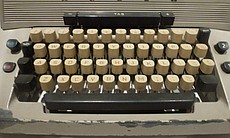 "The typewriter Jack Nicholson used in ""The Shin..."