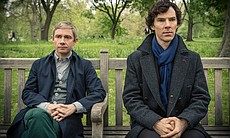 Martin Freeman as John Watson and Benedict Cumb... (34159)