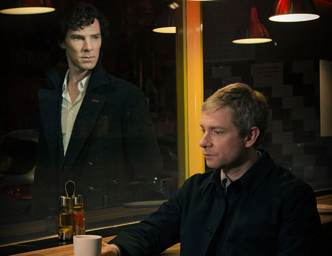 Benedict Cumberbatch as Sherlock Holmes and Mar... ()