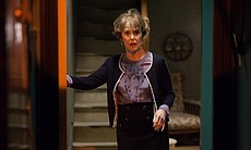 Una Stubbs as Mrs. Hudson.