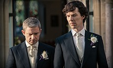 Martin Freeman as John Watson and Benedict Cumb... (34160)