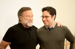 Robin Williams with
