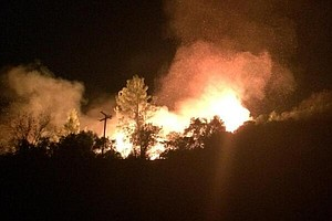 Colby Fire Suspects Expected In Court; Fire Crews Expect Full Containment