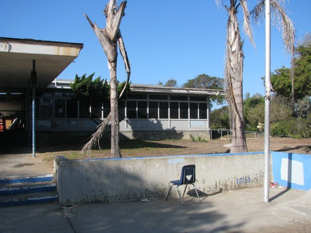 Ten years after it closed in 2003, Pacific View Elementary in Encinitas is st...