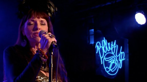 Candye Kane live at the Belly Up Tavern in 2014.